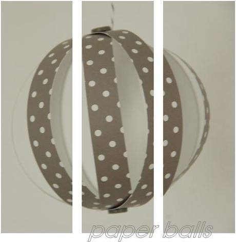 Paperballs papierkugeln als platzdeko table decoration - Papierkugeln basteln ...