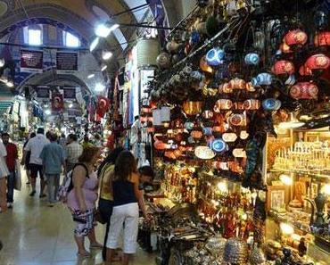 Auf Shoppingtour im Großen Bazar von Istanbul