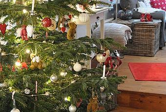 weihnachten zu hause. Black Bedroom Furniture Sets. Home Design Ideas