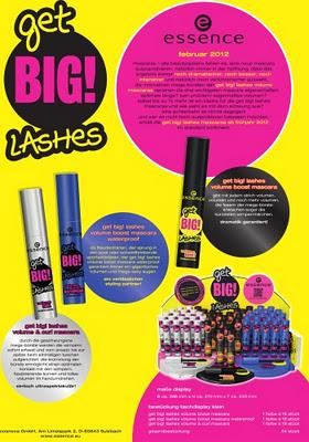 "essence trend edition ""get BIG! lashes"""