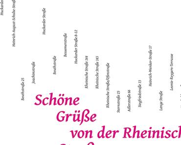 Projektraum Fotografie: Schöne Grüße aus der Rheinischen Straße