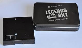 Essence Legends of the sky eyeshadow palette (depotted)