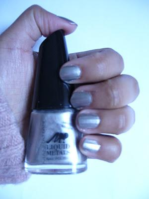 NOTD | Manhattan 101Z Nagellack | Liquid Metals LE