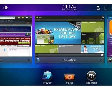 Blackberry PlayBook: Root erlaubt Installation von Android-Apps