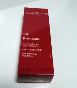 CLARINS Neuheit 2012 Ever matte SPF 15 Foundation