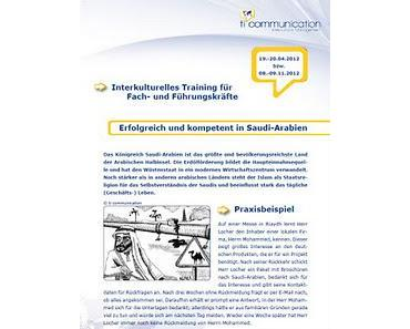 Offene interkulturelle Trainings 2012