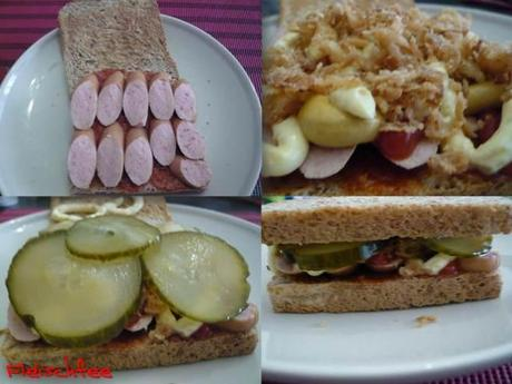 hot dog style sandwich. Black Bedroom Furniture Sets. Home Design Ideas