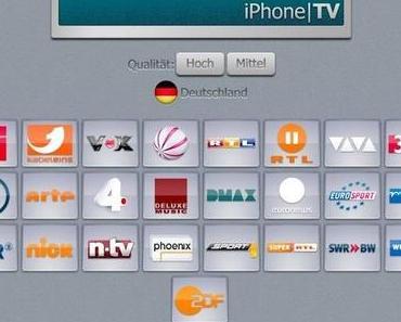 iPhone TV – Kostenlos Fernsehen mit iPhone und iPad