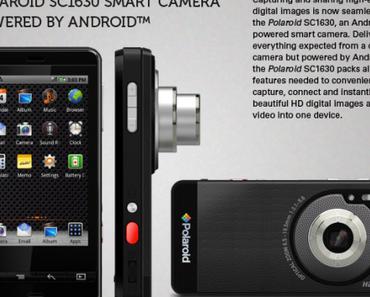 Polaroid SC1630 – Digitalkamera basierend auf Android