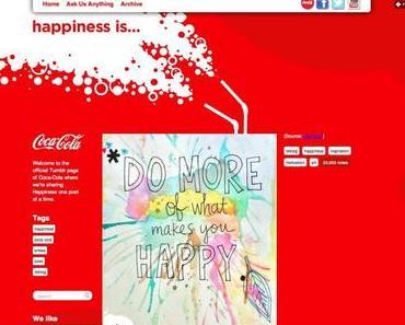 Coca-Cola setzt auf tumblr