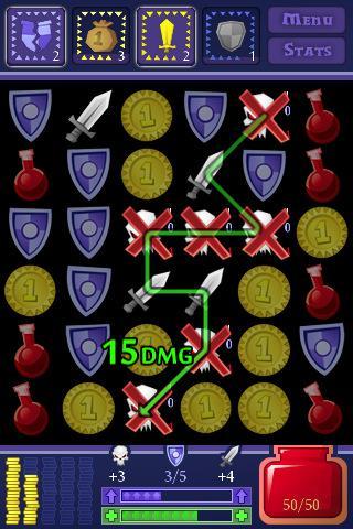 Dungeon Raid – Klasse Puzzle-Rollenspiel mit vielen Möglichkeiten