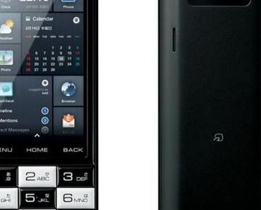 INFOBAR C01: Retro-Androide mit T9-Tastatur