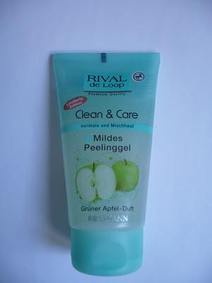 Review | Rival de Loop | Clean & Care Mildes Peelingsgel | Grüner Apfel-Duft