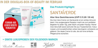 Preview: Douglas Box of Beauty Februar 2012