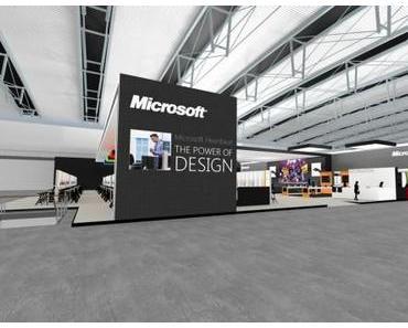 Cebit 2012 – Microsoft – Neuer Stand im Metro Design