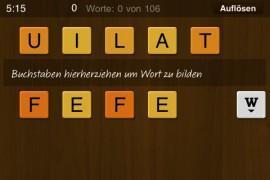 Wortwechsel – bilden Sie möglichst viele Wörter auf iPhone, iPodtouch