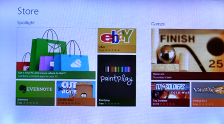 Windows 8 Store zeigt sich [Video]