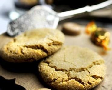 Karamellbonbon-Cookies mit Schoko-Espresso-Sirup