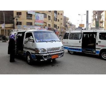 Ägypten: wir in Fahrt