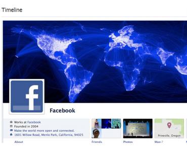 Infografik: die Chronik von Facebook