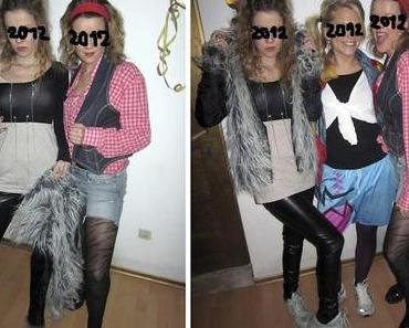 90er Silvester Party- die Outfits