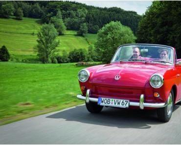 VW Cabrio Ausstellung – Oben ohne