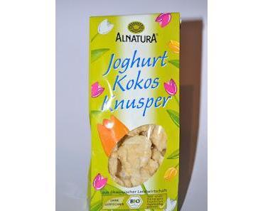 Alnatura Joghurt Kokos Knusper, Maltesers MaltEaster, Cadbury Caramel Bunnies und Nestle Aero Lamb Mint