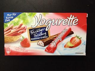 Yogurette Rhabarber-Erdbeer