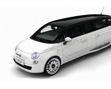 Der Fiat 500 als Stretch-Limousine