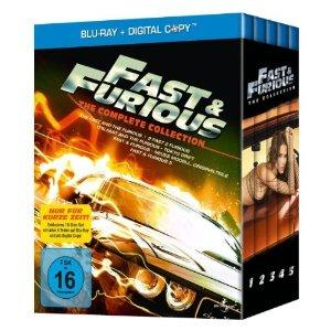 Fast & Furious 1-5 The Collection auf Bluray