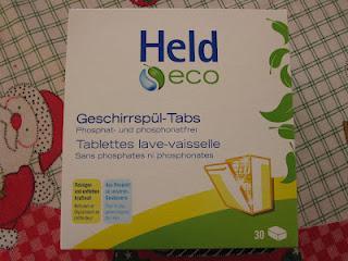 Held  Eco Geschirrspültabs im Test