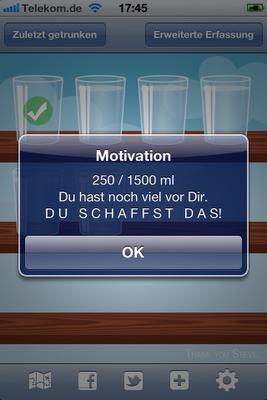 Trink App Iphone