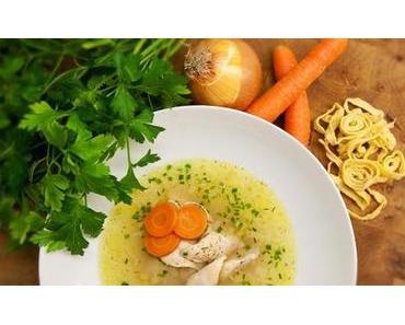 Hühner Einmach-Suppe