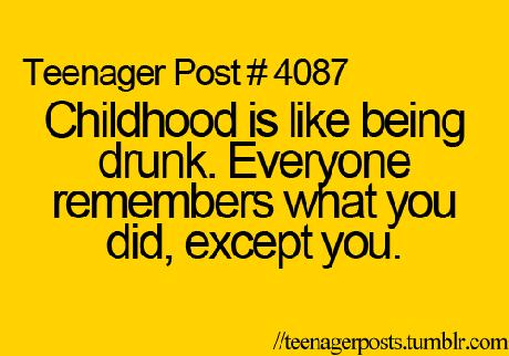 Teenager Posts :)