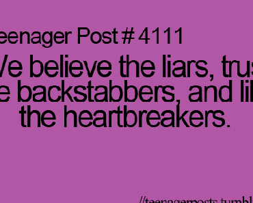 Teenager Posts :)