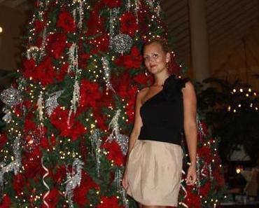 Unter dem karibischen Weihnachtsbaum & unsere deutsche Weihnachtspute