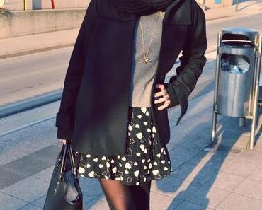 Zara Shopper und Heart Dress