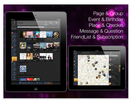 Fera: Alternative Facebook iPad-App