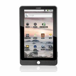 Angebot des Tages: Coby Kyros Android-Tablet für nur 99 Euro.