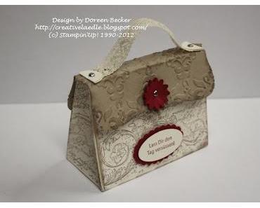 Eine Tasche ;-)) im Vintage Look