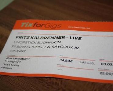 Fritz Kalkbrenner Live.