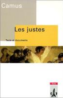 Inhaltsangabe: Die Gerechten von Albert Camus