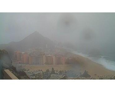 Pazifik aktuell: Tropischer Sturm GEORGETTE wird Baja California Sur komplett beeinflussen mit Live Webcams Cabo San Lucas und Los Cabos