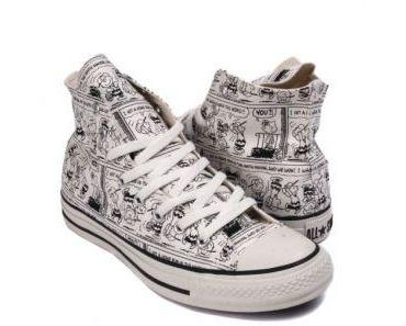Superselten Peanuts Comic Converse Chucks