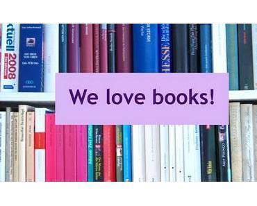 Blogparade mit Verlosung: We ♥ books