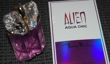 Review Alien Aqua Chic by Thierry Mugler