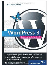 WordPress 3 Das umfassende Handbuch Bloggertipp: Wordpress 3   Das umfassende Handbuch