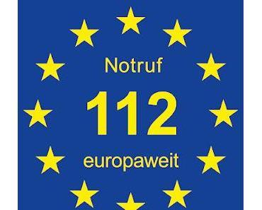 Eine der wichtigsten Telefonnummern in Europa, nur 25 % der Bürger kennen sie