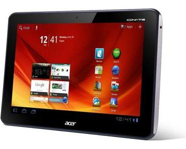 Acer Iconia Tab A200 erhält ab sofort Android 4.0-Update, A500 und A100 folgen im April.