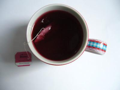 Tea Of The Day | Tee des Tages | Himbeere Cassis von Meßmer |